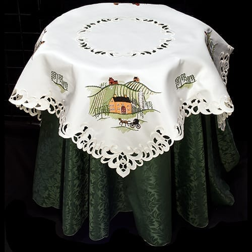 Horse and Buggy Table Topper 1