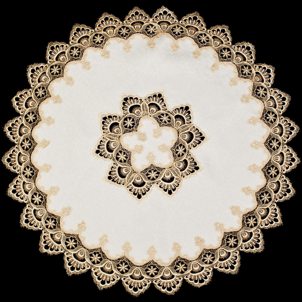 gold lace table topper table cloth r36 web ready