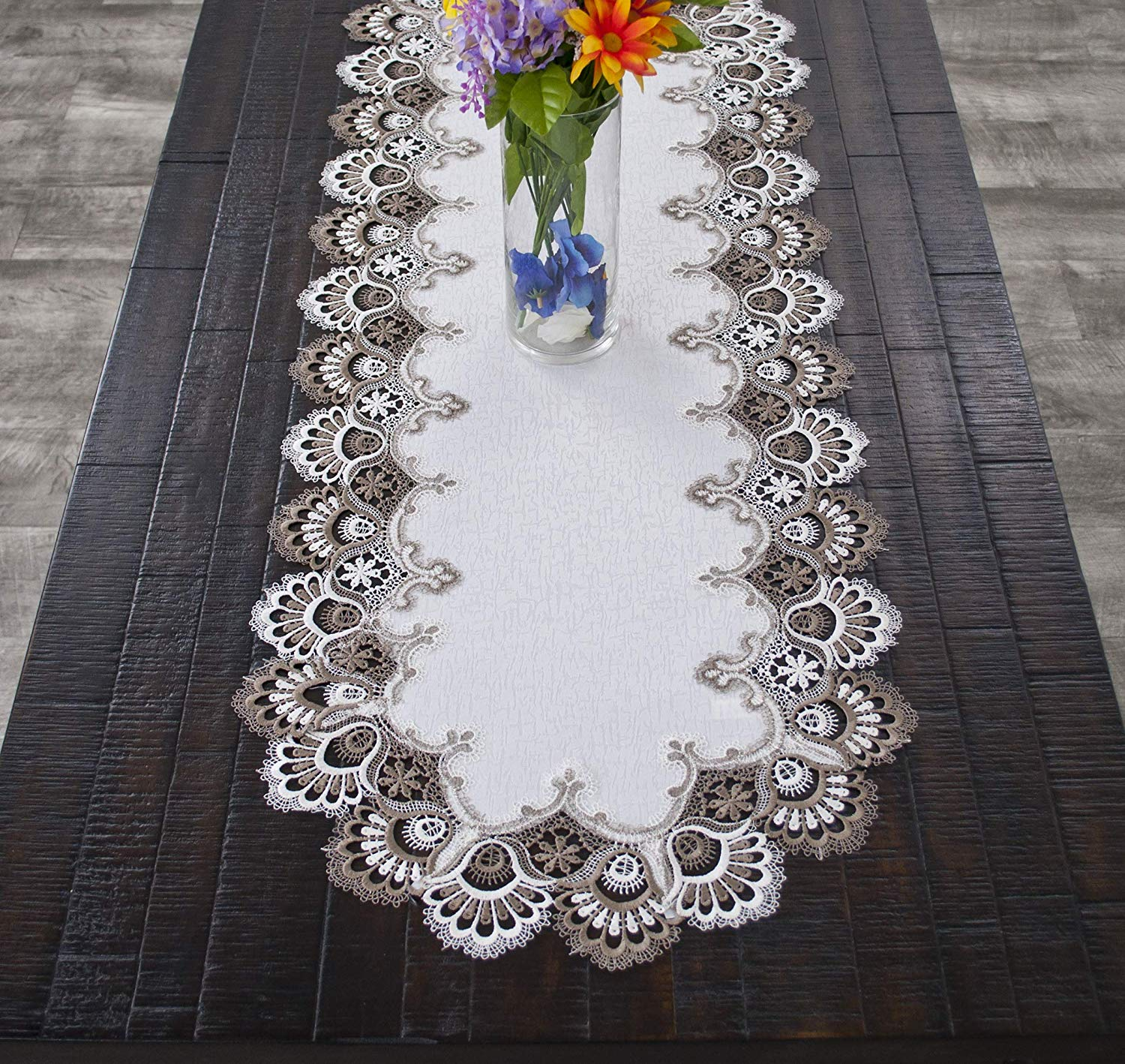 Lace Tablecloths Oval 300x300.jpg White ...