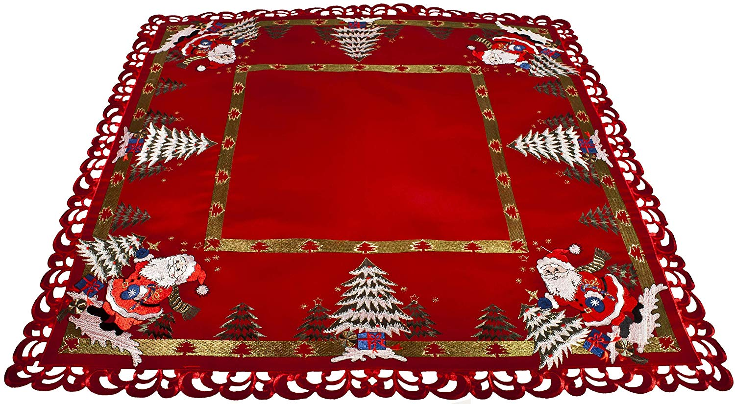 36 Inch Square Table Topper Christmas Trees Amp Santa