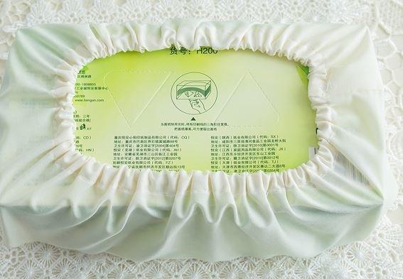 decorative gold lace rectangular european tissue box cover